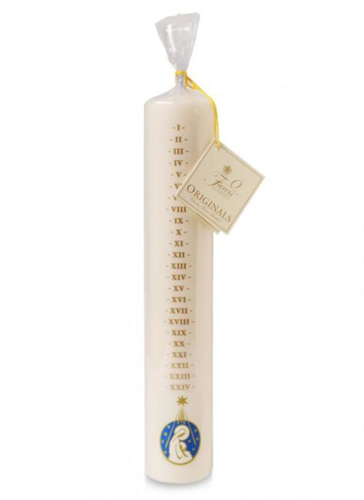Picture of Numbered Advent Candle 12 x 2 inch