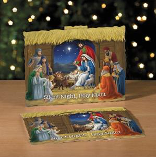 Picture of 3D Card Nativity Scene