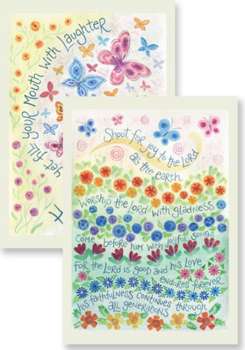 Picture of Notecards - Joyful Songs and Filled with Laughter