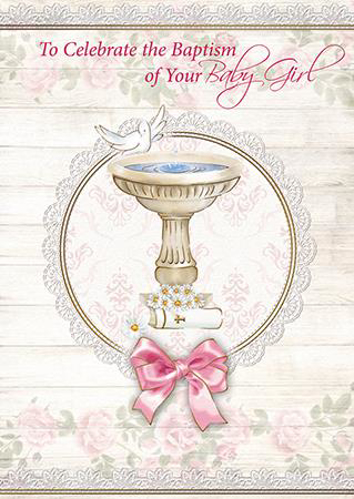 Picture of To Celebrate the Baptism of your Baby Girl