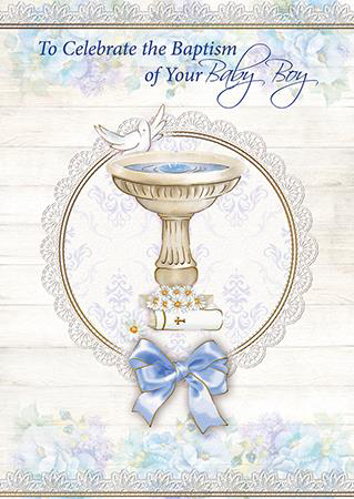 Picture of To Celebrate the Baptism of your Baby Boy