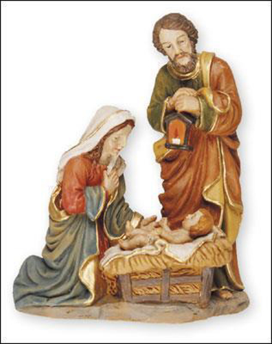 Picture of Resin Figure - Nativity 3.75 inch
