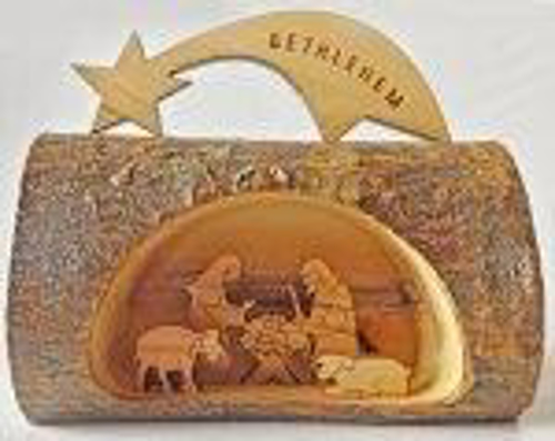 Picture of Nativity - Olive Wood 10 x 11cm