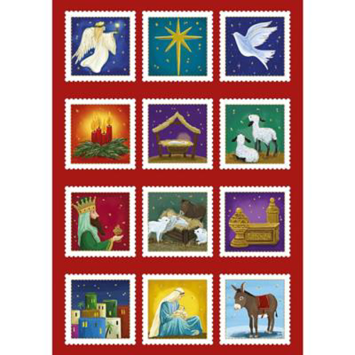 Picture of Advent Calendar - Christmas Shield