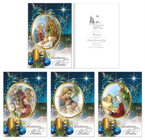 Picture of Christmas Angel - 18 Cards (4 Designs)