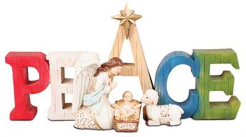 Picture of Resin Nativity Scene - 6.5 inch