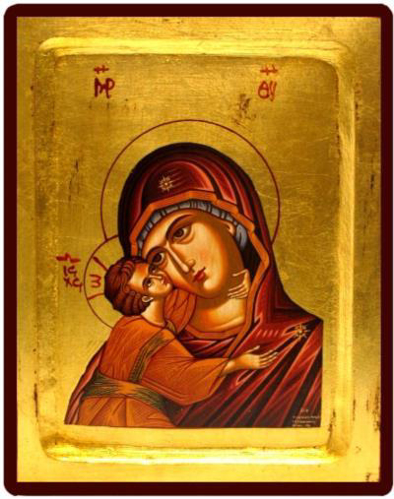 Picture of Icon: Virgin of Korsun