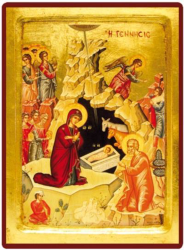 Picture of Icon: The Nativity