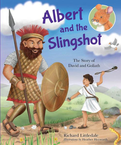 Picture of Albert And The Slingshot: The Story of David And Goliath