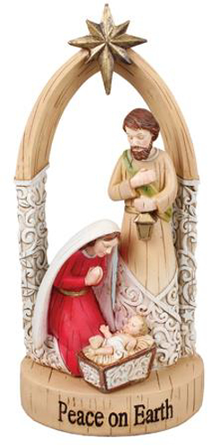 Picture of Resin Nativity Statue - 9.75 inch
