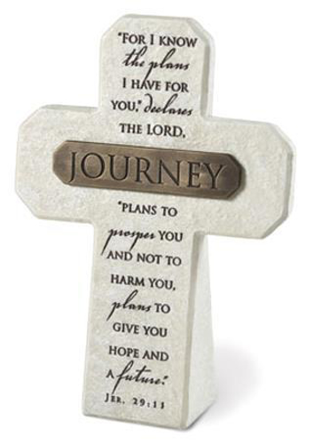 """Picture of Cross Standing - Journey - 5.5"""" x 4"""""""