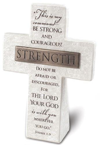 """Picture of Cross - Standing - Strength - 5.5"""" x 4"""""""
