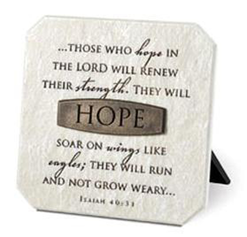 Picture of Stone Plaque: Hope