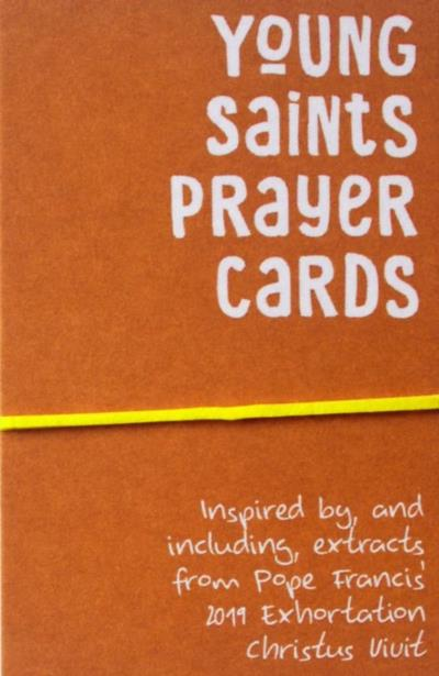 Picture of Young Saints Prayer Card Pack