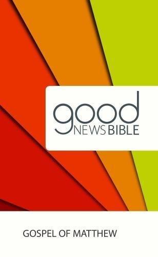 Picture of Good News Bible: Gospel of Matthew