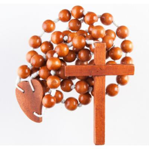 Picture of Large Brown Rosary 100cms