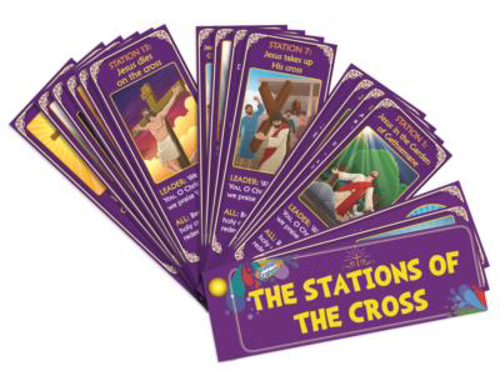 Picture of Stations of the Cross Fan
