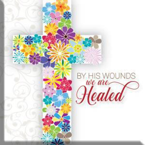 Picture of Easter Magnet - By His Wounds