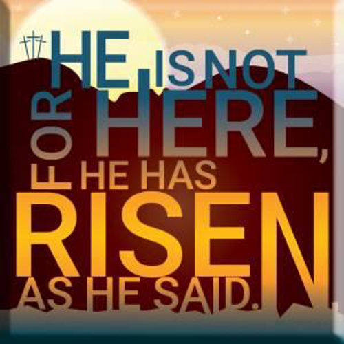 Picture of Easter Magnet - He is Risen