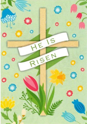 Picture of Easter Card Pack (Mini) - 4 Cards