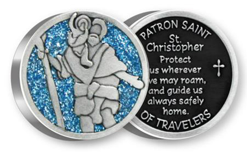 Picture of Metal Token - St.Christopher