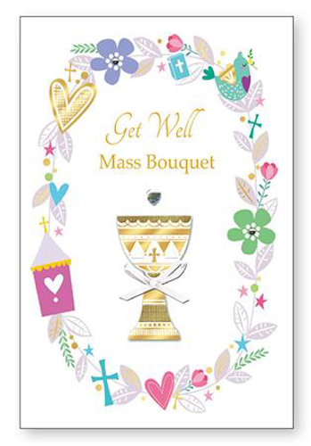 Picture of Get Well Mass Bouquet Card
