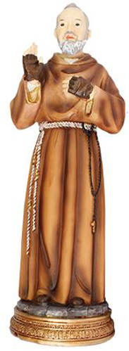 Picture of Resin Statue/St. Pio 5 inch