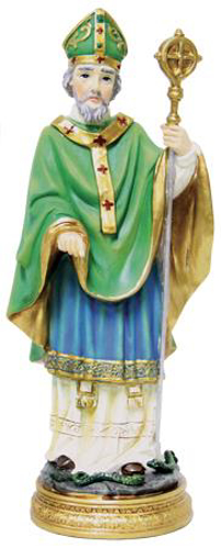 Picture of Resin Statue/St. Patrick 5 inch