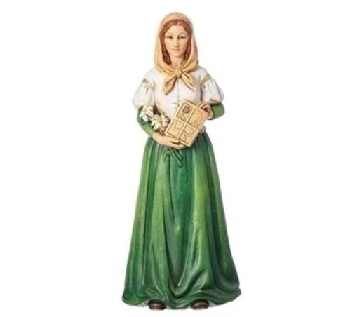 """Picture of St. Dymphna 6.25"""""""