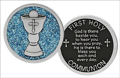 Picture of 1st Communion Metal Pocket Token