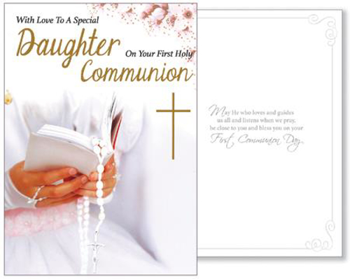 Picture of 1st Communion Card (Daughter)