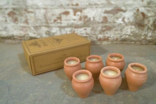 Picture of Box of 6 small candles - Lavendar Vishal