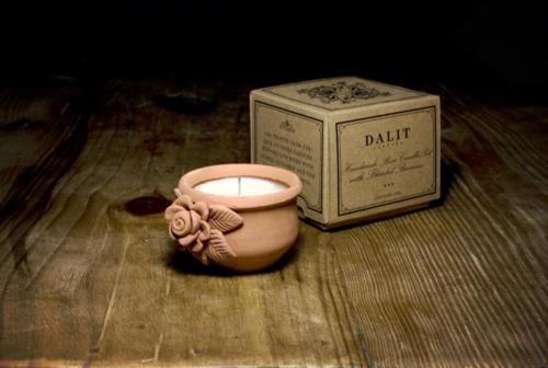 Picture of One Medium Candle - Rose