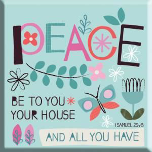 Picture of Magnet: Peace Be To Your House And All You Have