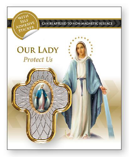 Picture of Car Plaque - Our Lady of Grace
