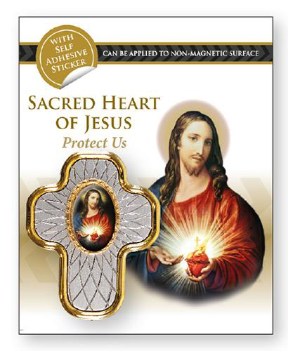 Picture of Car Plaque - Sacred Heart