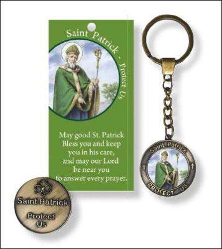 Picture of Keyring - St. Patrick (+Leaflet)