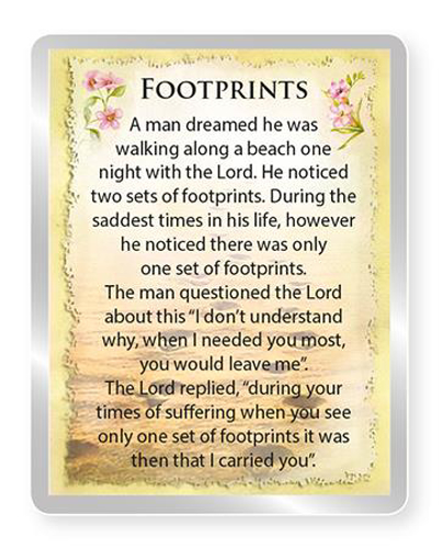 Picture of Picture Fridge Magnet - Footprints