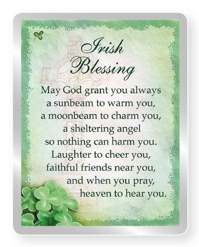 Picture of Fridge Magnet - Irish Blessing