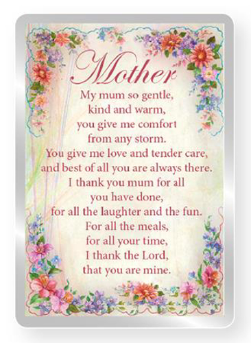Picture of Mother Fridge Magnet