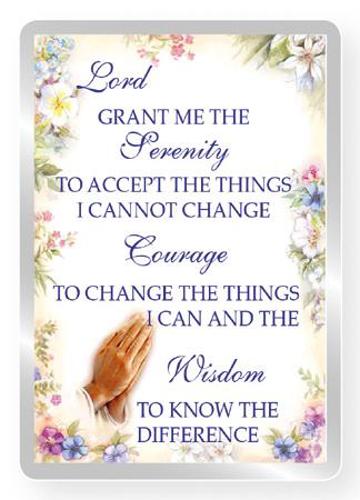 Picture of Serenity Prayer Fridge Magnet