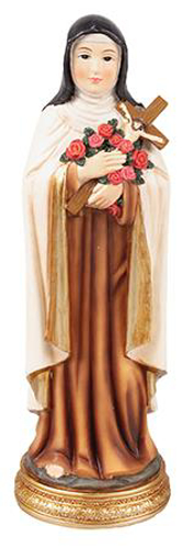 Picture of Resin Statue/St. Therese 8 inch