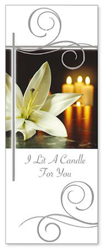 Picture of I Lit a Candle