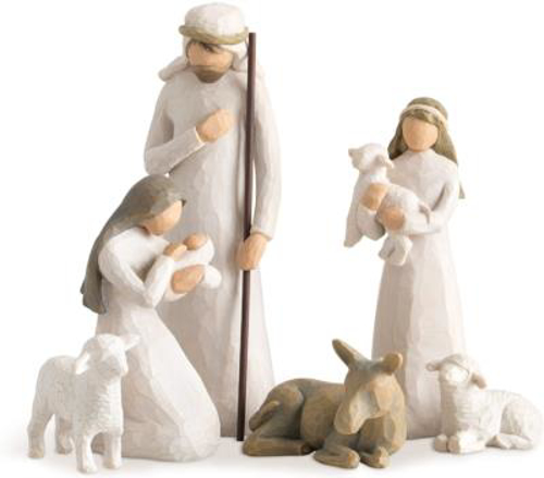 """Picture of Willow Tree - Resin Nativity Figures 9.5"""""""