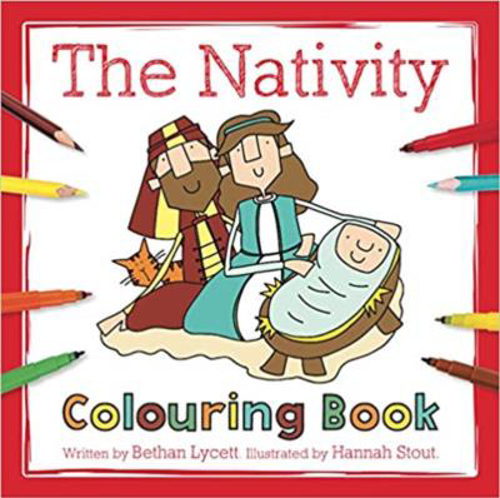 Picture of The Nativity Colouring Book