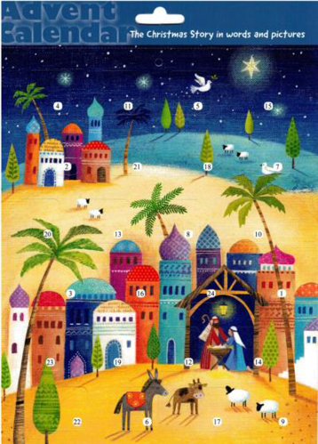 Picture of Advent Calendar A4