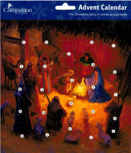 Picture of Advent Calendar: The Shepherds Adore