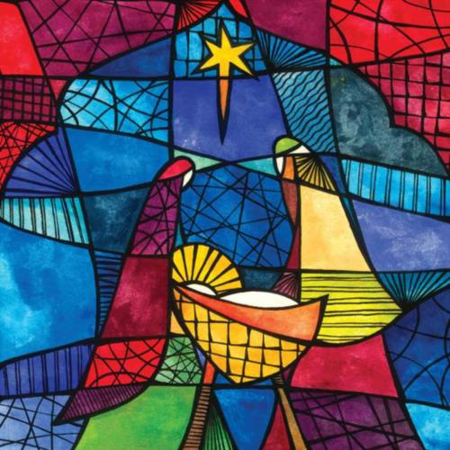 Picture of Stained Glass - Pack of 10