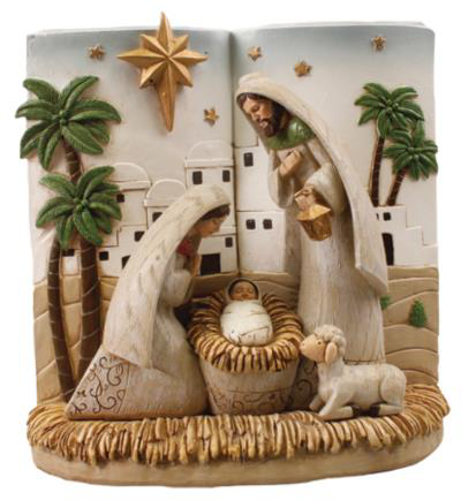 """Picture of Resin Holy Family Nativity Scene 8"""""""