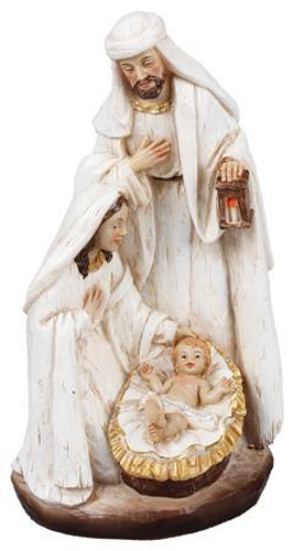 """Picture of Resin Holy Family Nativity Scene 7"""""""